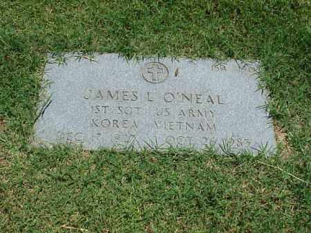 ONEAL (VETERAN 2 WARS), JAMES L - Pulaski County, Arkansas | JAMES L ONEAL (VETERAN 2 WARS) - Arkansas Gravestone Photos
