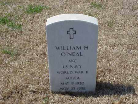 O'NEAL (VETERAN 2 WARS), WILLIAM H - Pulaski County, Arkansas | WILLIAM H O'NEAL (VETERAN 2 WARS) - Arkansas Gravestone Photos