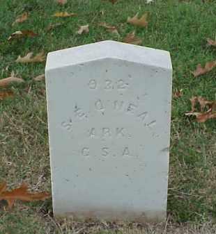 O'NEAL (VETERAN CSA), S E - Pulaski County, Arkansas | S E O'NEAL (VETERAN CSA) - Arkansas Gravestone Photos
