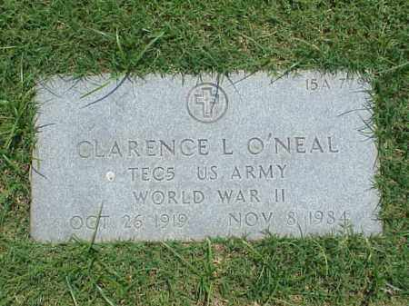 O'NEAL (VETERAN WWII), CLARENCE L - Pulaski County, Arkansas | CLARENCE L O'NEAL (VETERAN WWII) - Arkansas Gravestone Photos