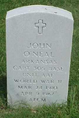 O'NEAL (VETERAN WWII), JOHN - Pulaski County, Arkansas | JOHN O'NEAL (VETERAN WWII) - Arkansas Gravestone Photos
