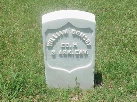 ORNSBY (VETERAN UNION), WILLIAM - Pulaski County, Arkansas | WILLIAM ORNSBY (VETERAN UNION) - Arkansas Gravestone Photos
