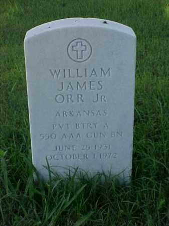 ORR, JR (VETERAN KOR), WILLIAM JAMES - Pulaski County, Arkansas | WILLIAM JAMES ORR, JR (VETERAN KOR) - Arkansas Gravestone Photos