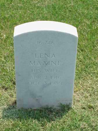 ORR, LENA MAXINE - Pulaski County, Arkansas | LENA MAXINE ORR - Arkansas Gravestone Photos