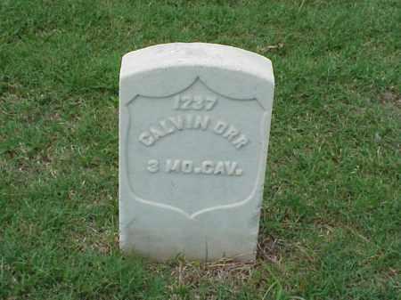 ORR (VETERAN UNION), CALVIN - Pulaski County, Arkansas | CALVIN ORR (VETERAN UNION) - Arkansas Gravestone Photos