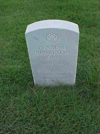 ORR (VETERAN WWI), PERSING BURLESON - Pulaski County, Arkansas | PERSING BURLESON ORR (VETERAN WWI) - Arkansas Gravestone Photos