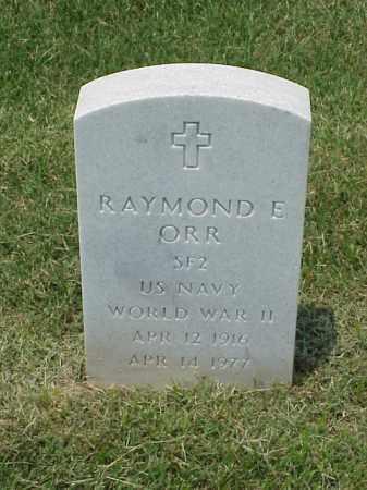 ORR (VETERAN WWII), RAYMOND E - Pulaski County, Arkansas | RAYMOND E ORR (VETERAN WWII) - Arkansas Gravestone Photos