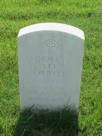 ORRELL (VETERAN WWII), DEWEY LEE - Pulaski County, Arkansas | DEWEY LEE ORRELL (VETERAN WWII) - Arkansas Gravestone Photos