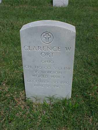 ORT (VETERAN WWI), CLARENCE W - Pulaski County, Arkansas | CLARENCE W ORT (VETERAN WWI) - Arkansas Gravestone Photos