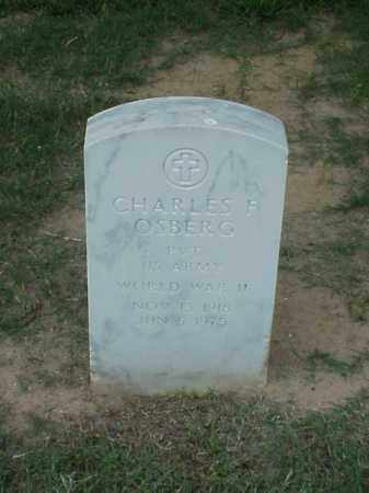 OSBERG (VETERAN WWII), CHARLES F - Pulaski County, Arkansas | CHARLES F OSBERG (VETERAN WWII) - Arkansas Gravestone Photos