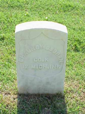 OSBORN (VETERAN UNION), CHAUNCY - Pulaski County, Arkansas | CHAUNCY OSBORN (VETERAN UNION) - Arkansas Gravestone Photos