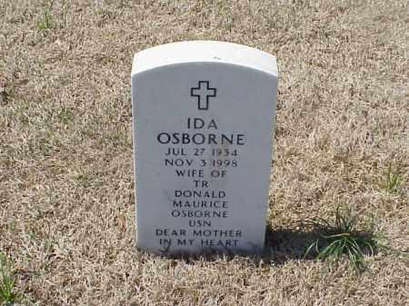 OSBORNE, IDA - Pulaski County, Arkansas   IDA OSBORNE - Arkansas Gravestone Photos