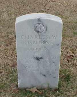 OSBORNE (VETERAN WWI), CHARLES W - Pulaski County, Arkansas | CHARLES W OSBORNE (VETERAN WWI) - Arkansas Gravestone Photos