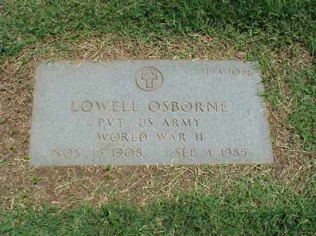 OSBORNE (VETERAN WWII), LOWELL - Pulaski County, Arkansas | LOWELL OSBORNE (VETERAN WWII) - Arkansas Gravestone Photos