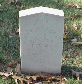 OSBURN (VETERAN CSA), JAMES - Pulaski County, Arkansas | JAMES OSBURN (VETERAN CSA) - Arkansas Gravestone Photos