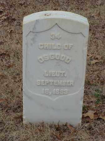 OSGOOD, CHILD - Pulaski County, Arkansas | CHILD OSGOOD - Arkansas Gravestone Photos