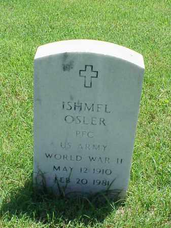 OSLER (VETERAN WWII), ISHMEL - Pulaski County, Arkansas | ISHMEL OSLER (VETERAN WWII) - Arkansas Gravestone Photos