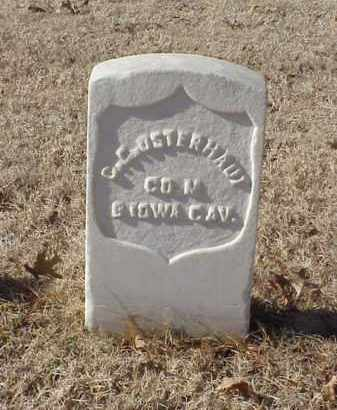 OSTERHAUT (VETERAN UNION), C E - Pulaski County, Arkansas | C E OSTERHAUT (VETERAN UNION) - Arkansas Gravestone Photos