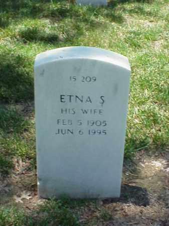 OSTERHOUDT, ETNA S - Pulaski County, Arkansas | ETNA S OSTERHOUDT - Arkansas Gravestone Photos
