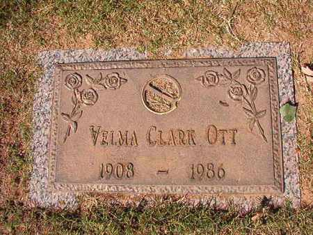 OTT, VELMA - Pulaski County, Arkansas | VELMA OTT - Arkansas Gravestone Photos