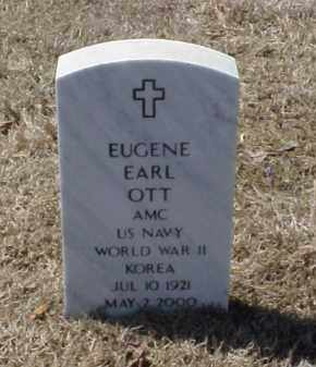 OTT (VETERAN 2 WARS), EUGENE EARL - Pulaski County, Arkansas | EUGENE EARL OTT (VETERAN 2 WARS) - Arkansas Gravestone Photos