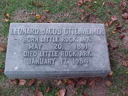 OTTENHEIMER, LEONARD JACOB - Pulaski County, Arkansas | LEONARD JACOB OTTENHEIMER - Arkansas Gravestone Photos