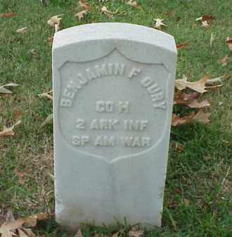 OURY (VETERAN SAW), BENJAMIN F - Pulaski County, Arkansas | BENJAMIN F OURY (VETERAN SAW) - Arkansas Gravestone Photos
