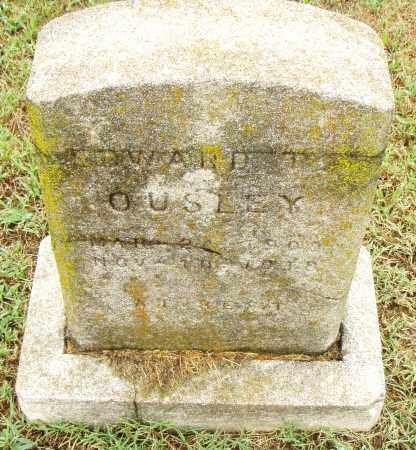 OUSLEY, EDWARD T. - Pulaski County, Arkansas | EDWARD T. OUSLEY - Arkansas Gravestone Photos