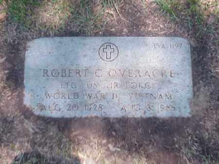 OVERACRE (VETERAN 2 WARS), ROBERT C - Pulaski County, Arkansas | ROBERT C OVERACRE (VETERAN 2 WARS) - Arkansas Gravestone Photos