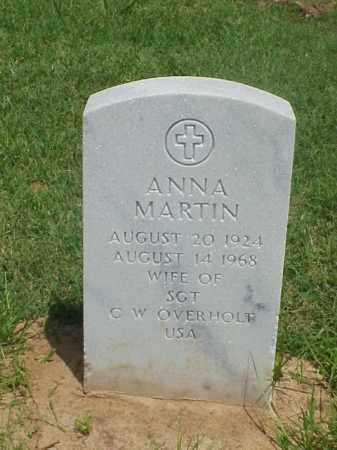 OVERHOLT, ANNA MARTIN - Pulaski County, Arkansas | ANNA MARTIN OVERHOLT - Arkansas Gravestone Photos
