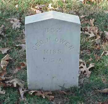 OWEN (VETERAN CSA), GEORGE H - Pulaski County, Arkansas | GEORGE H OWEN (VETERAN CSA) - Arkansas Gravestone Photos