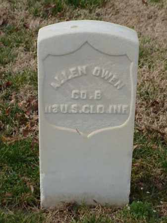 OWEN (VETERAN UNION), ALLEN - Pulaski County, Arkansas | ALLEN OWEN (VETERAN UNION) - Arkansas Gravestone Photos