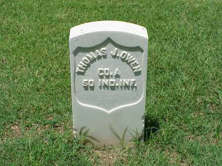 OWEN (VETERAN UNION), THOMAS J - Pulaski County, Arkansas | THOMAS J OWEN (VETERAN UNION) - Arkansas Gravestone Photos