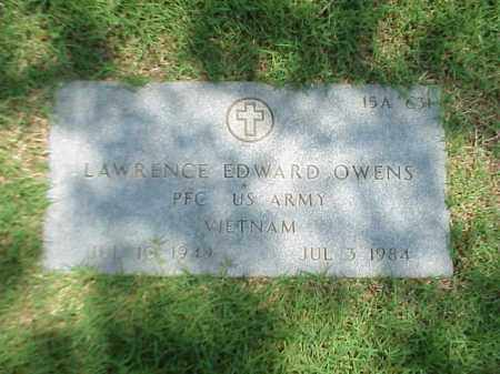 OWENS (VETERAN VIET), LAWRENCE EDWARD - Pulaski County, Arkansas | LAWRENCE EDWARD OWENS (VETERAN VIET) - Arkansas Gravestone Photos