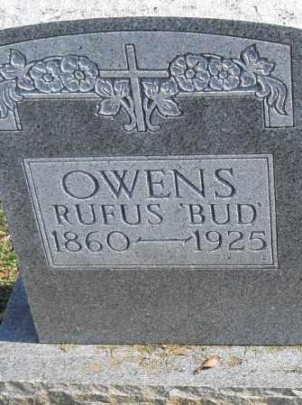 OWENS, RUFUS 'BUD' - Pulaski County, Arkansas | RUFUS 'BUD' OWENS - Arkansas Gravestone Photos
