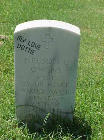 OWENS (VETERAN 3 WARS), NELSON E - Pulaski County, Arkansas | NELSON E OWENS (VETERAN 3 WARS) - Arkansas Gravestone Photos