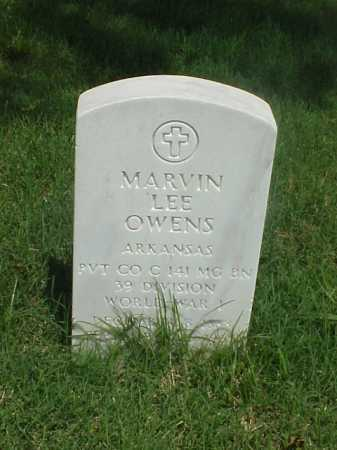 OWENS (VETERAN WWI), MARVIN LEE - Pulaski County, Arkansas | MARVIN LEE OWENS (VETERAN WWI) - Arkansas Gravestone Photos