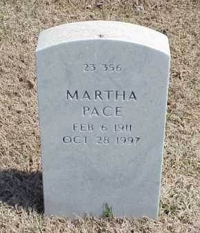 PACE, MARTHA - Pulaski County, Arkansas | MARTHA PACE - Arkansas Gravestone Photos