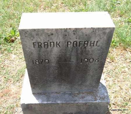 PAFAHL, FRANK - Pulaski County, Arkansas | FRANK PAFAHL - Arkansas Gravestone Photos