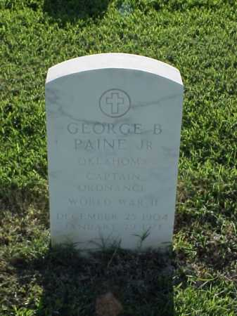 PAINE, JR (VETERAN WWII), GEORGE B - Pulaski County, Arkansas | GEORGE B PAINE, JR (VETERAN WWII) - Arkansas Gravestone Photos