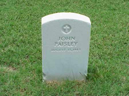 PAISLEY, JOHN - Pulaski County, Arkansas | JOHN PAISLEY - Arkansas Gravestone Photos