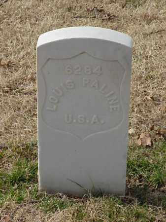 PALINE (VETERAN UNION), LOUIS - Pulaski County, Arkansas | LOUIS PALINE (VETERAN UNION) - Arkansas Gravestone Photos