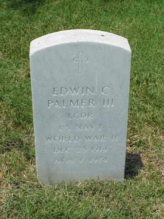 PALMER III (VETERAN WWII), EDWIN C - Pulaski County, Arkansas | EDWIN C PALMER III (VETERAN WWII) - Arkansas Gravestone Photos