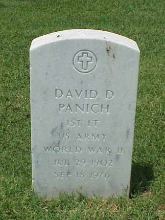 PANICH (VETERAN WWII), DAVID D - Pulaski County, Arkansas | DAVID D PANICH (VETERAN WWII) - Arkansas Gravestone Photos