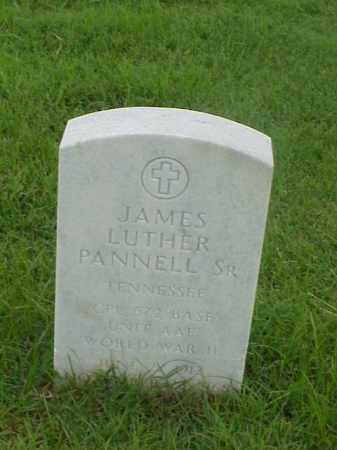 PANNELL, SR (VETERAN WWII), JAMES LUTHER - Pulaski County, Arkansas | JAMES LUTHER PANNELL, SR (VETERAN WWII) - Arkansas Gravestone Photos