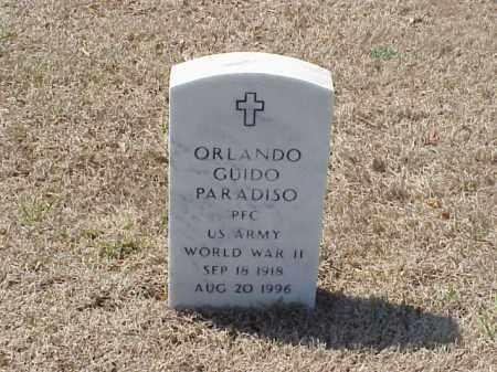 PARADISO (VETERAN WWII), ORLANDO GUIDO - Pulaski County, Arkansas | ORLANDO GUIDO PARADISO (VETERAN WWII) - Arkansas Gravestone Photos