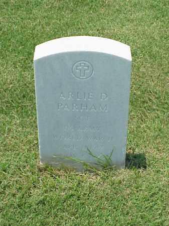 PARHAM (VETERAN WWII), ARLIE D - Pulaski County, Arkansas | ARLIE D PARHAM (VETERAN WWII) - Arkansas Gravestone Photos