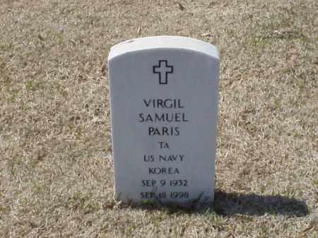 PARIS (VETERAN KOR), VIRGIL SAMUEL - Pulaski County, Arkansas | VIRGIL SAMUEL PARIS (VETERAN KOR) - Arkansas Gravestone Photos