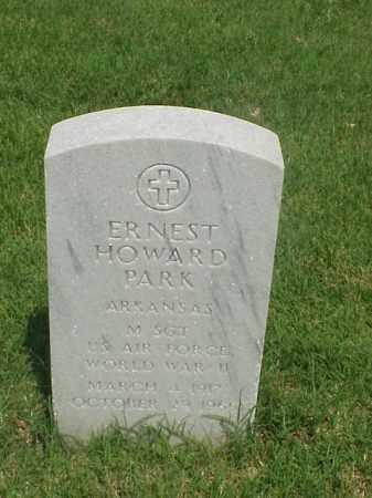 PARK (VETERAN WWII), ERNEST HOWARD - Pulaski County, Arkansas | ERNEST HOWARD PARK (VETERAN WWII) - Arkansas Gravestone Photos