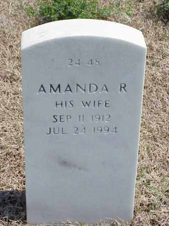 PARKER, AMANDA R - Pulaski County, Arkansas | AMANDA R PARKER - Arkansas Gravestone Photos